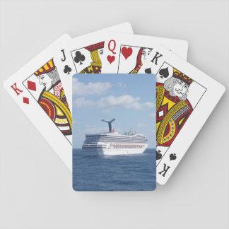 Nave en el mar baraja de cartas