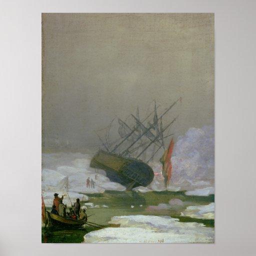 Nave en el mar polar, el 12 de diciembre de 1798 impresiones