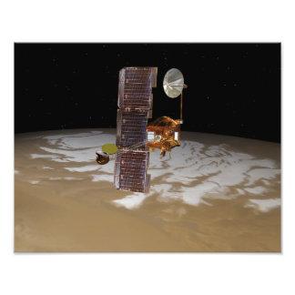 Nave espacial de la odisea de Marte Impresión Fotográfica