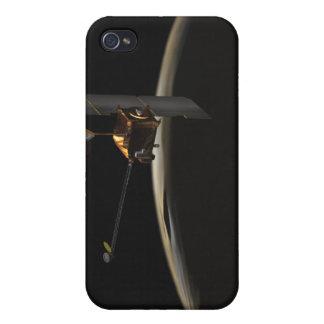 Nave espacial de la odisea de Marte sobre salida iPhone 4 Fundas