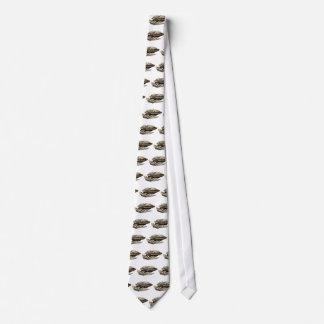 Nave espacial de Moder en blanco Corbatas Personalizadas