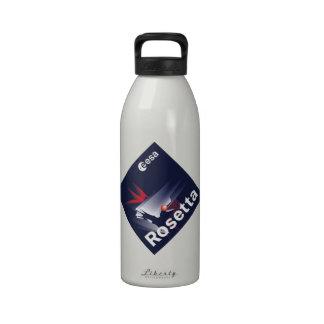 Nave espacial de Rosetta Botella De Agua Reutilizable