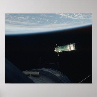 Nave espacial de Soyuz (proyecto de la prueba de A Poster