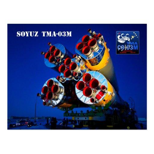 Nave espacial de Soyuz TMA-03M, Kazajistán Tarjetas Postales