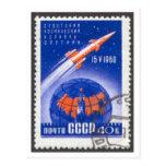 Nave espacial de Sputnik 4 Vostok de la postal