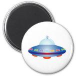 Nave espacial del UFO Iman De Frigorífico