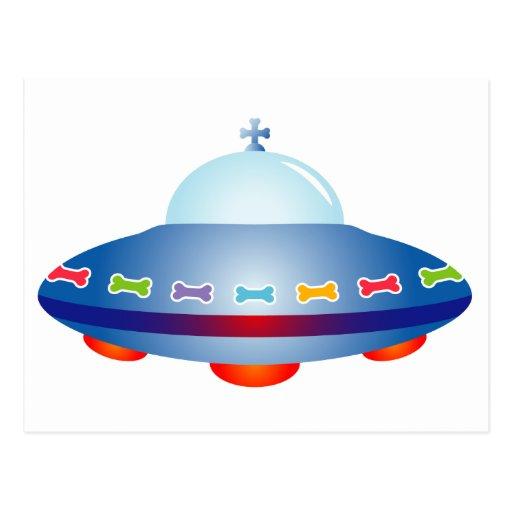 Nave espacial del UFO Postal