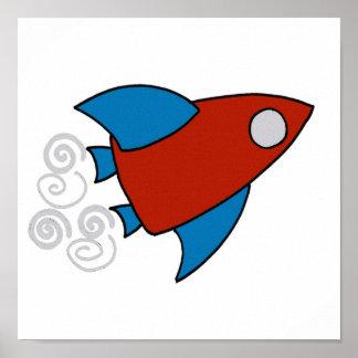 Nave espacial dos poster