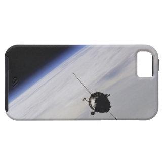 Nave espacial en espacio exterior iPhone 5 cárcasas