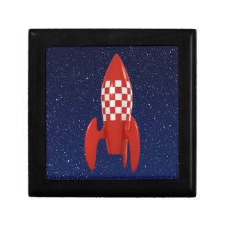 Nave espacial retra fresca de Rocket de espacio de Cajas De Regalo