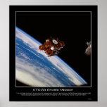 Nave espacial SPARTAN-201 backdropped Impresiones