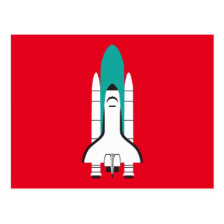 nave espacial tarjetas postales