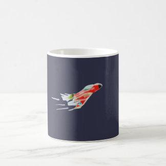 Nave espacial taza de café