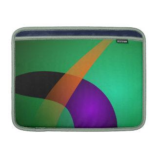 Nave espacial verde funda macbook air