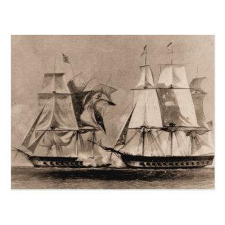 Nave Estados Unidos de los E.E.U.U. de la nave de Tarjetas Postales
