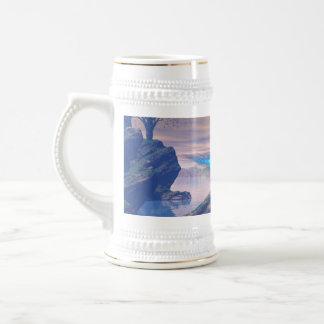 Nave extranjera tazas de café
