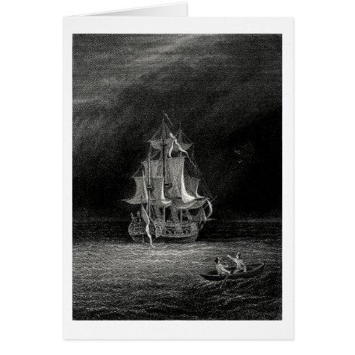 Nave fantasma tarjeta