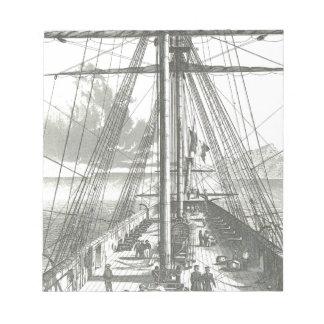Nave francesa de la línea, 1800 libretas para notas