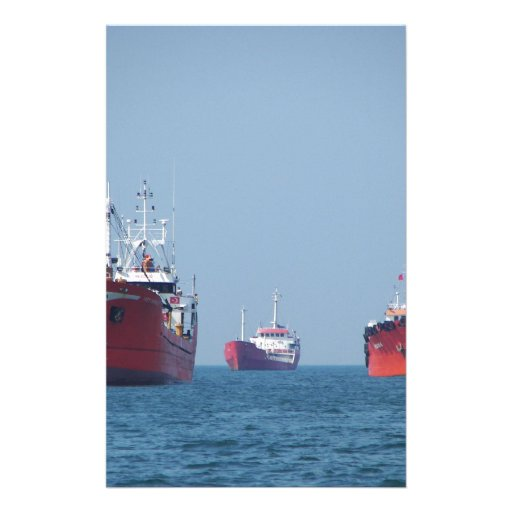 Nave grande Anchorage Personalized Stationery