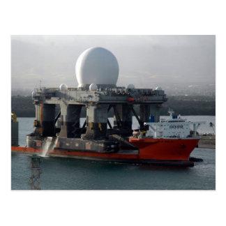 Nave grande del radar postal