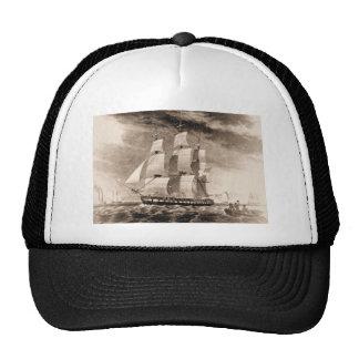 Nave Houston 1819 de los E.E.U.U. Gorros Bordados