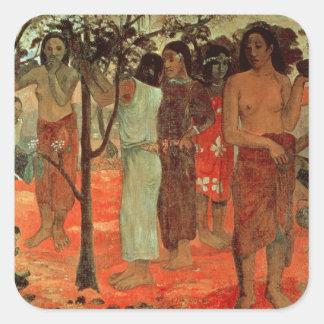 Nave Nave Mahana , 1896 Square Sticker