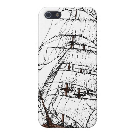 Nave vieja iPhone 5 protector