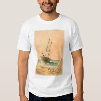 """Nave """"Viscata"""" de Británicos varado (0533A) Remeras"""