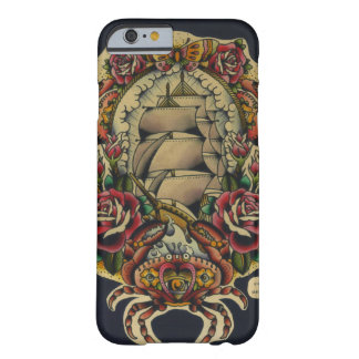 nave y cangrejos funda de iPhone 6 barely there