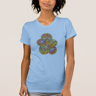 NAVEEN All Smiles: Abstract Flower Patterns Tees