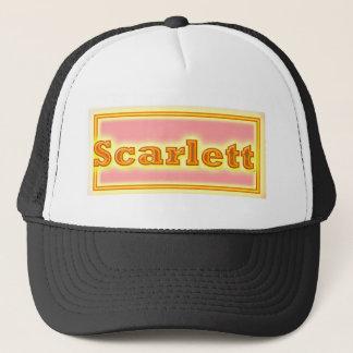 NAVEEN Elegant Text Trucker Hat