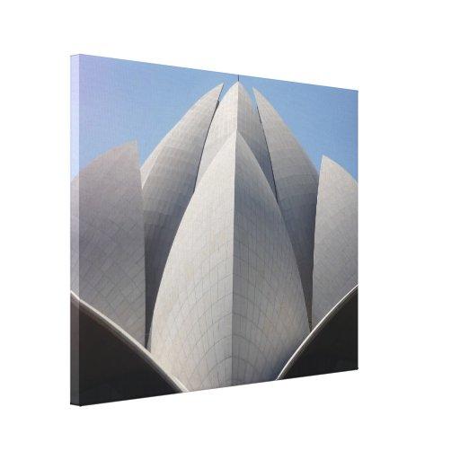 navega la lona del loto lienzo envuelto para galerías