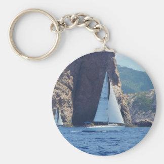 Navegación a lo largo de la costa de Cerdeña Llaveros Personalizados