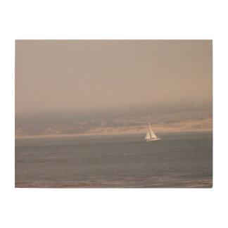 Navegación a solas cuadros de madera