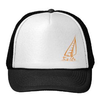 Navegación anaranjada gorra