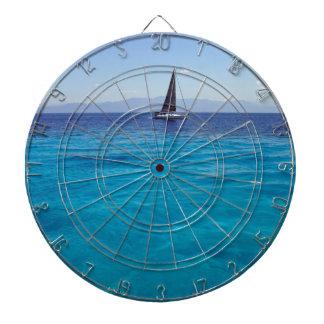 navegación azul del mar tablero dardos