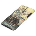 Navegación de Galleon del barco pirata del vintage Case-Mate iPod Touch Protector