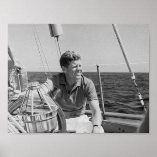 Navegación de JFK el vacaciones Póster