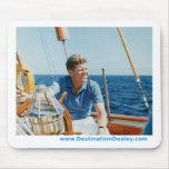 Navegación de Kennedy Alfombrillas De Ratón