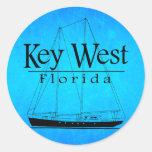 Navegación de Key West Pegatina