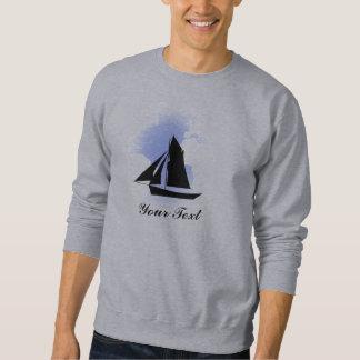 Navegación de la camiseta básica para hombre del sudaderas encapuchadas