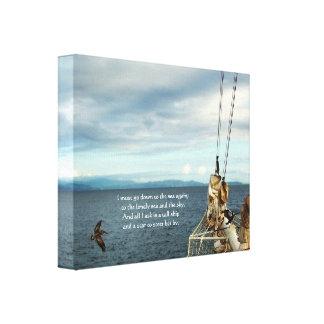 Navegación de la impresión de la fiebre del mar de impresiones en lona