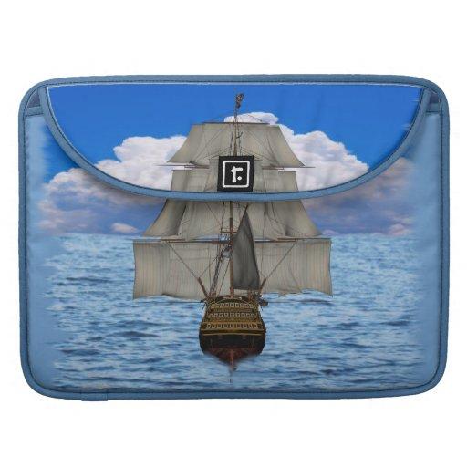 Navegación de la nave fundas para macbooks