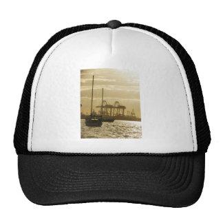 Navegación de la puesta del sol gorra
