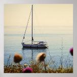 Navegación de la puesta del sol impresiones