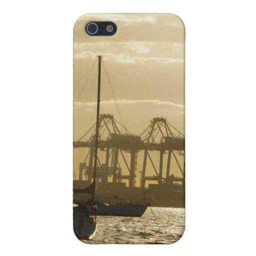 Navegación de la puesta del sol iPhone 5 carcasas