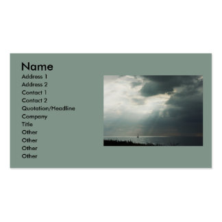 Navegación de la tempestad de truenos plantillas de tarjetas personales