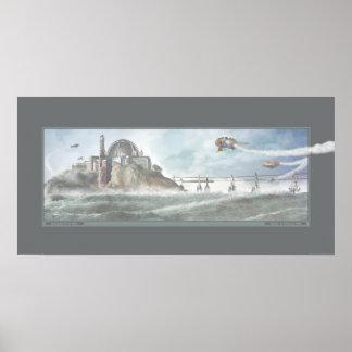 Navegación de los siete cielos (30x15') póster