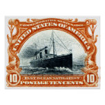 Navegación de océano rápida 1901 posters