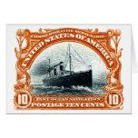 Navegación de océano rápida 1901 tarjeton